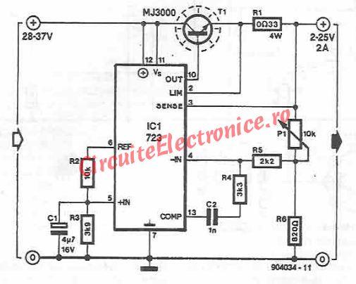schema electronica Sursa