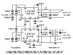 schema sursa de alimentare 5 - 12 volti cu L4970A si L4974A