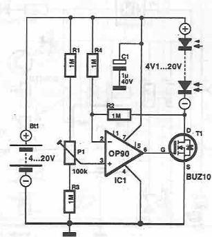 schema electronica sistem de alimentare celule solare
