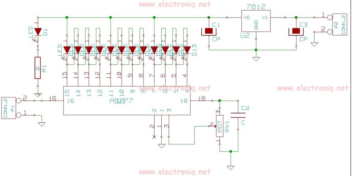 AD277 schema indicator de nivel