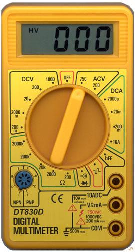 Multimetru digital modul de utilizare