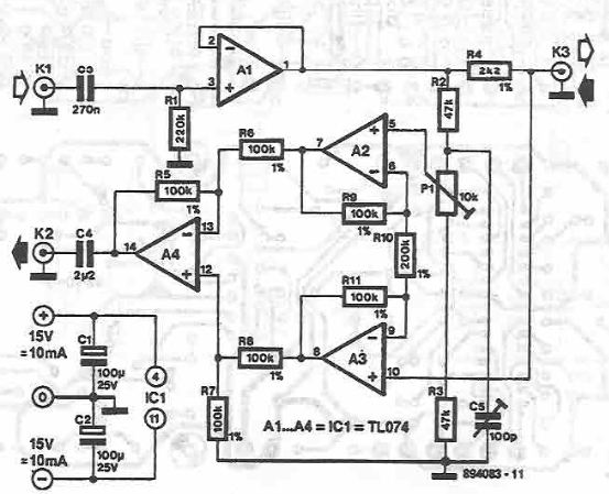Schema sistem de comunicatie audio duplex