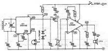 schema electronica Radioreceptor am cu ZN414 ZN415