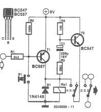 Circuit de actionare pentru un releu