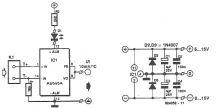 Interfata termocuplu K – multimetru digital