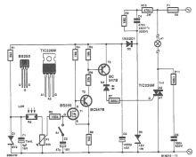 Circuit comutator sensibil la lumina