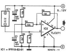schema Detector inductiv de proximitate