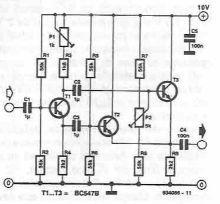 Dublor de frecventa cu tranzistori