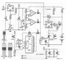 Schema incarcator NiMh cu LM317