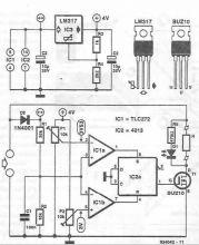 Stabilizator electronic pentru panouri solare