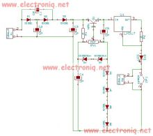 schema electronica Tester diode zener cu LM317