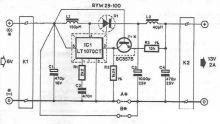 schema electronica LTC1070 convertor DC DC 6-12 volti