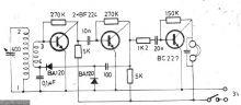 schema electronica Radio receptor unde lungi medii