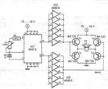 Schema electronica Repelent sobolani soareci si alte animale