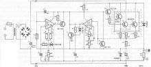 schema Sursa laborator reglabila 0-50V 2A cu lm10