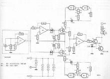 Sonerie electronica cu AO schema electronica