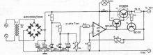 schema electronica Sursa reglabila 0-15 volti 5A