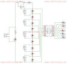 Schema electronica tester cabluri electrice cu LM317