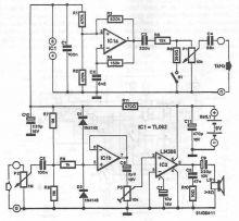 Schema Tester pentru circuite electrice si electronice