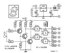 schema Tester logic cu display