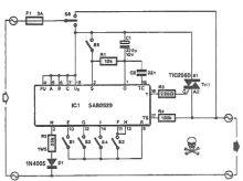 Timer electronic cu SAB0529