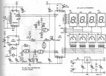 schema Temporizator electronic cu display