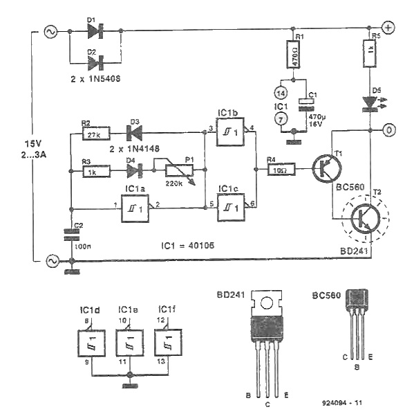 Regulator de turatie motor 12V DC