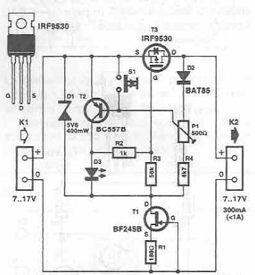 Schema siguranta electronica