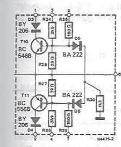 protectie Amplificator audio 70 - 90 watts cu tranzistori