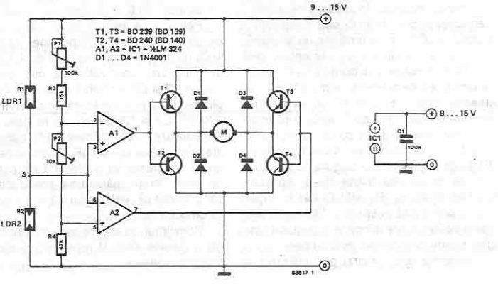 schema Sitem de orientare solara