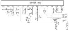 Amplificator 100 watts cu STK404