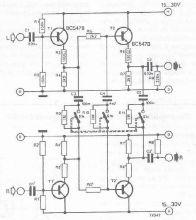 Schema electronics atenuator de zgomot pentru FM