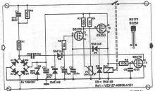 Schema circuit de temporizare la conectare
