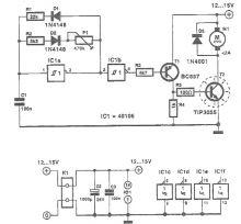 Regulator turatie motor DC utilizand PWM