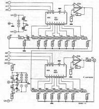 schema Potentiometru digital pentru volum