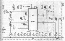 schema electronica circuit emitator CB in banda de 27Mhz