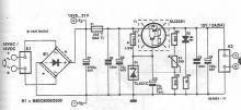 schema circuit Stabilizator 12V cu tranzistor