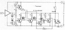 Schema electronica indicator de clipping