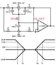 lm833 tone control circuit diagram