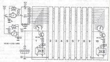 schema electronica Orga de lumini 10 canale cu efecte