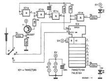 schema electronica sonda de test