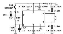 schema electronica Amplificator de masina cu TDA7241